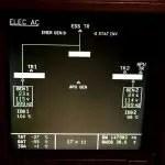 Airbus ECAM System Display - Elec AC