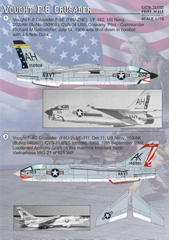 Vought F-8 Crusader : vought, crusader, Vought, Crusader, AviationMegastore.com