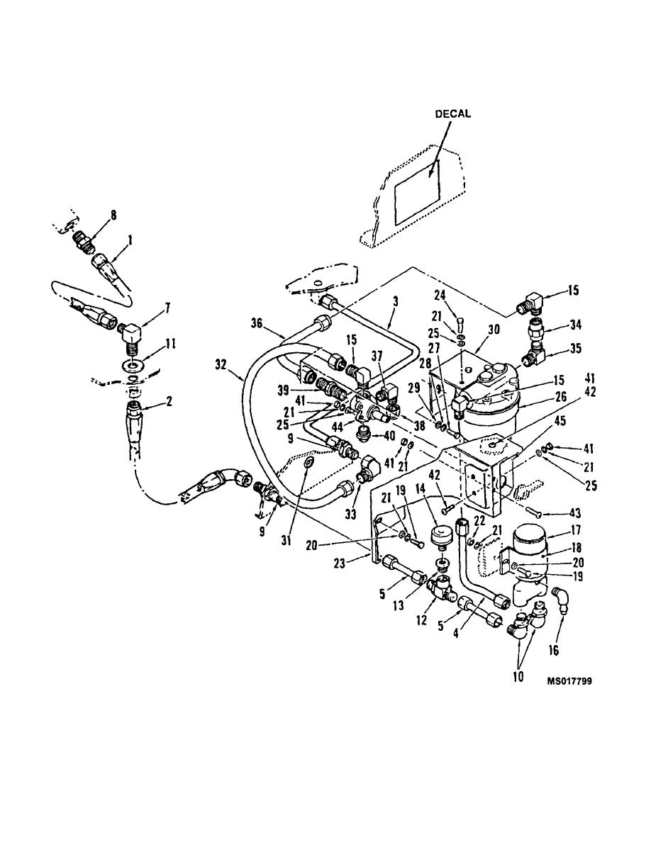 Figure 1. Fuel Pump and Filter Installation