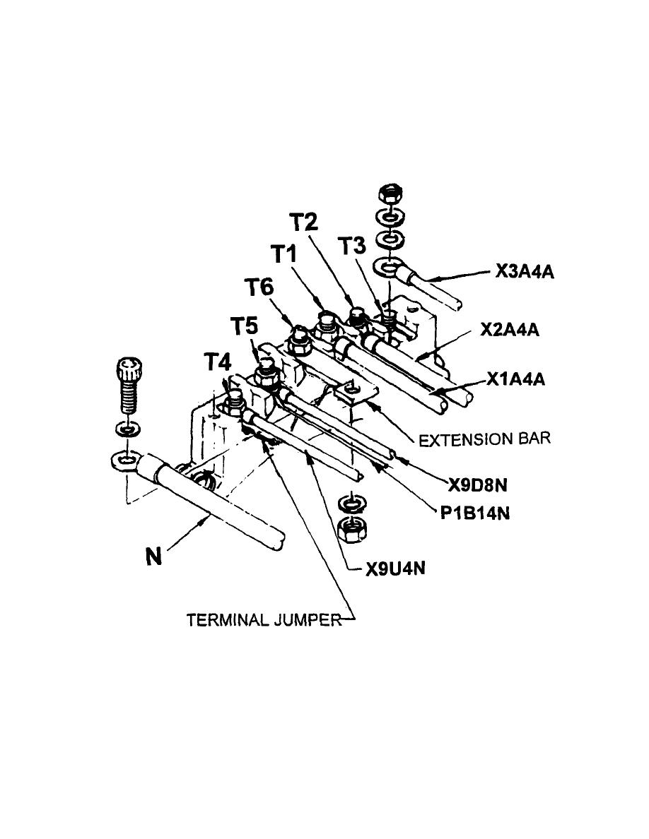 Figure C. Electrical Connection, AGH828-3 Generator