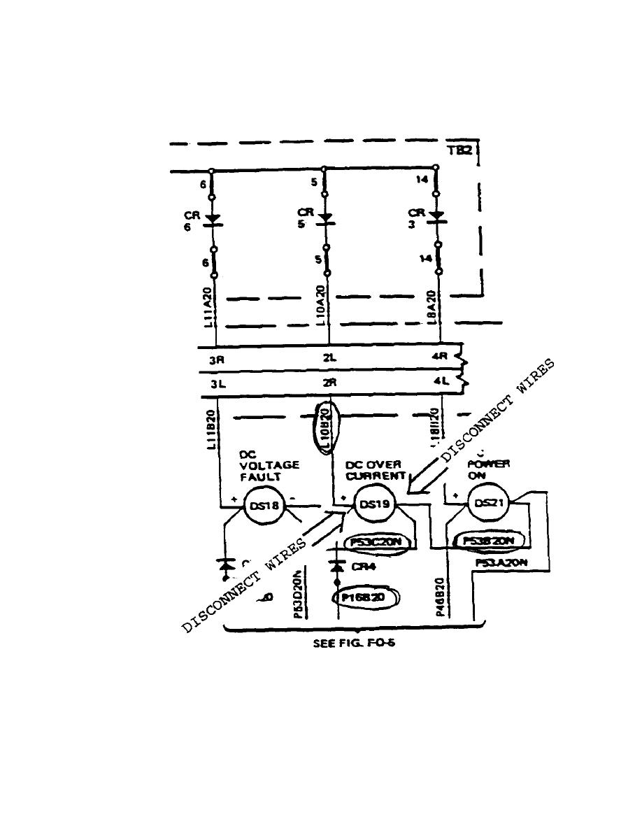 Figure D. FO-2D Lighting System Schematic/Wiring Diagram