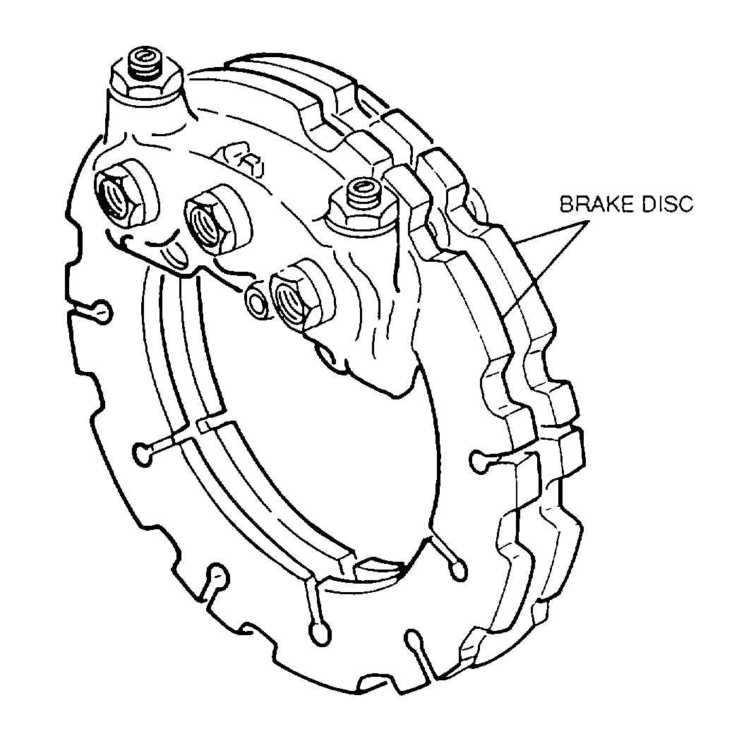 Figure 4-154. Disc Brake Assembly