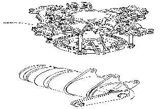 Figure 4-165. Main Rotor Assembly with Piston Dampers