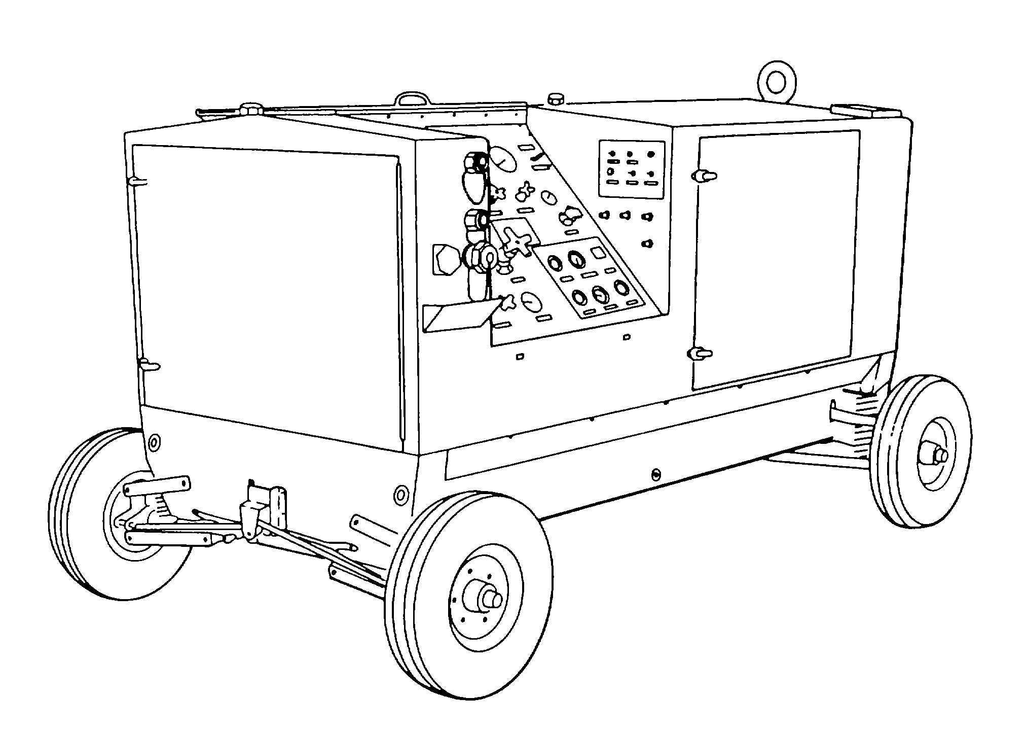 Figure 3 2 Typical Gasoline Engine Driven Hydraulic Test