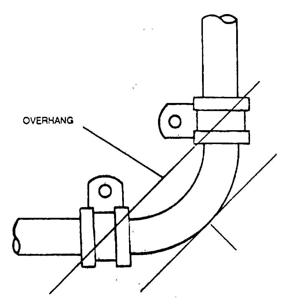 Table 2 4 Support Clamp Spacing