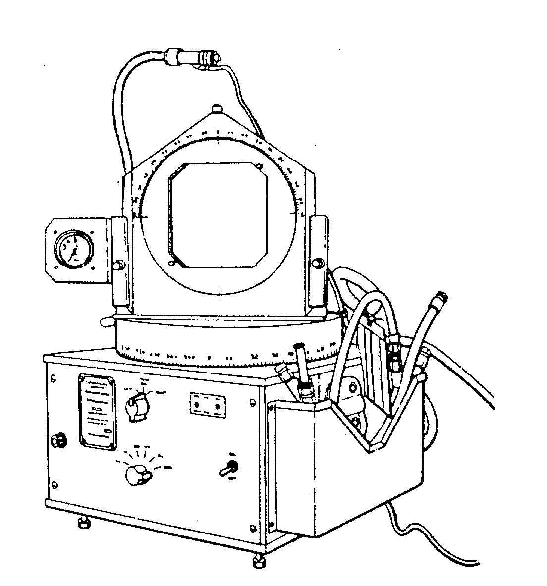 Figure 4-4. Turntable Instrument Tester