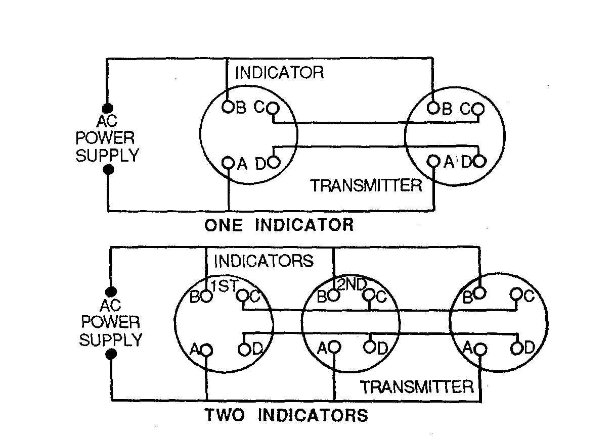 Figure 4-24. Remote Indicating Compass Wiring Diagram