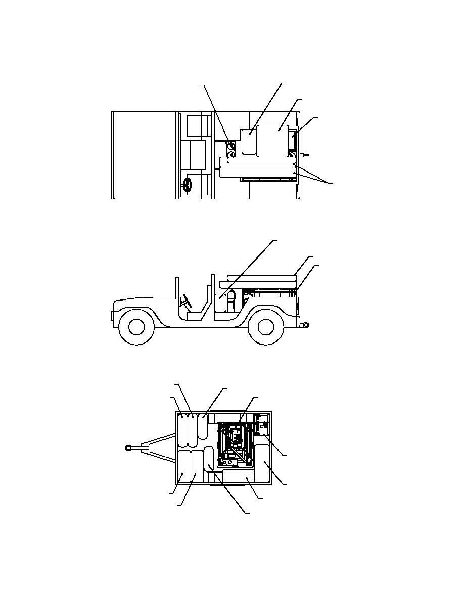 HMMWV WITH CARGO TRAILER LOADING PLAN
