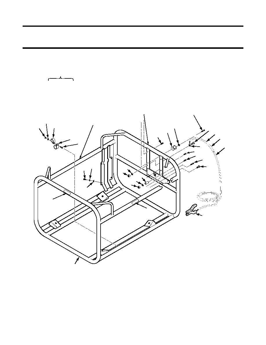 Figure 7. Pump-Engine Module Frame