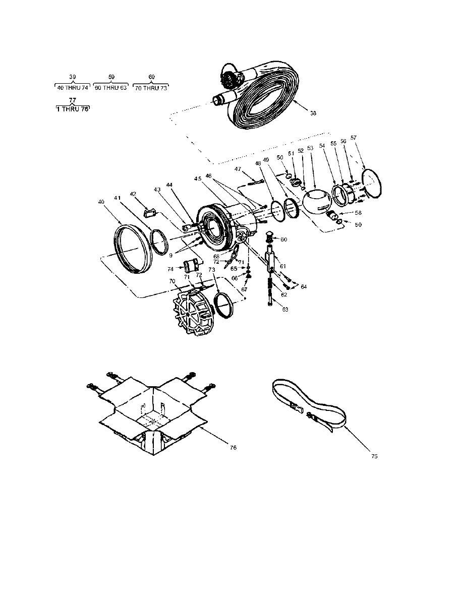 Figure 31. Discharge Hose Kit PN532603 (Sheet 2)
