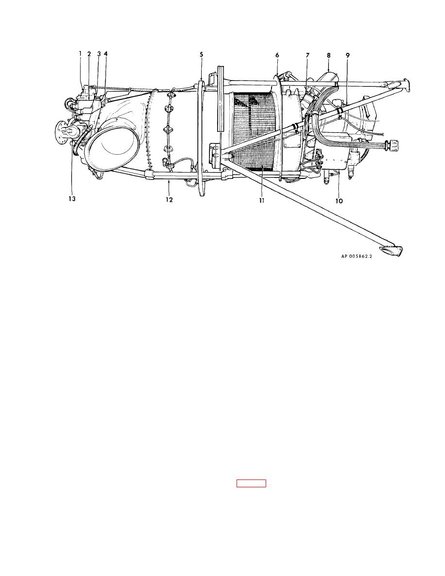 Figure 2-10. T74-CP-700 Engine (sheet 1 of 2)