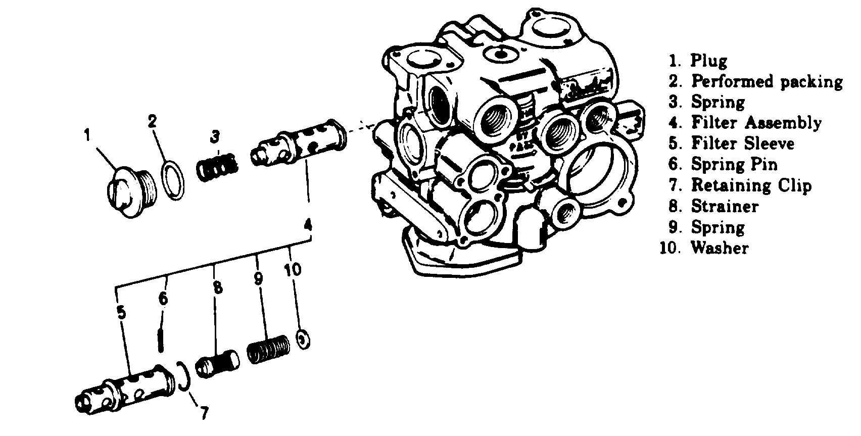 Figure 5 8 Fuel Control Fuel Filter