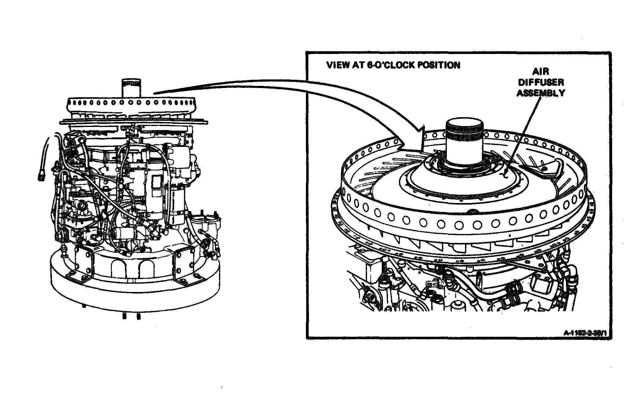 Gas Turbine Engine Diffuser, Gas, Free Engine Image For