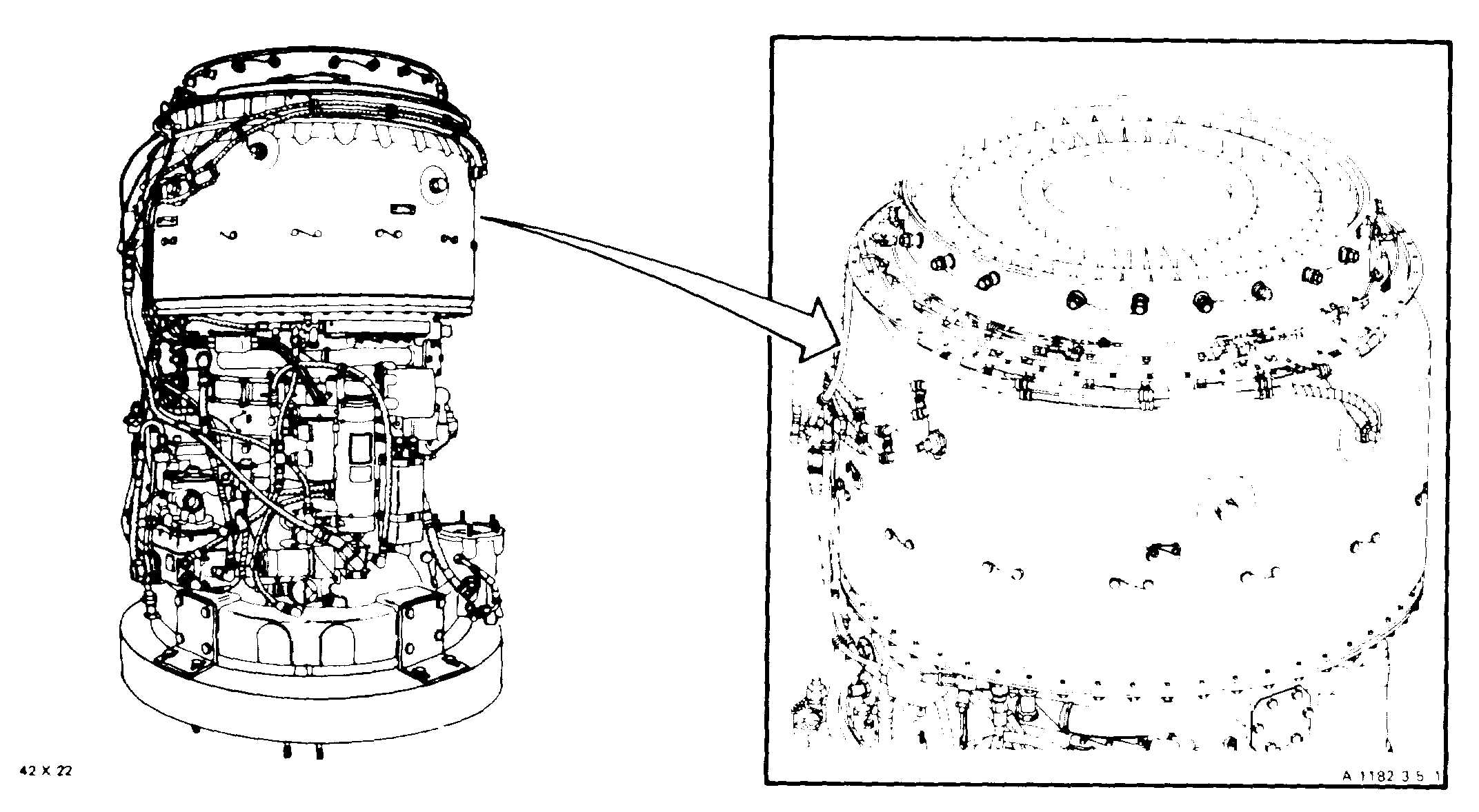 Section II. COMBUSTION SECTION AND POWER TURBINE