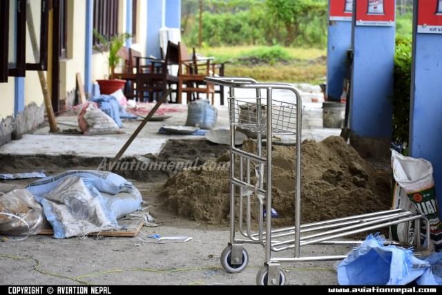 Construction Work at Chandragadhi Airport-aviationnepal.com