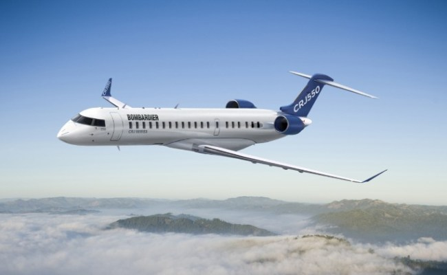 Bombardier Launches New Innovative 50 Seater Aircraft