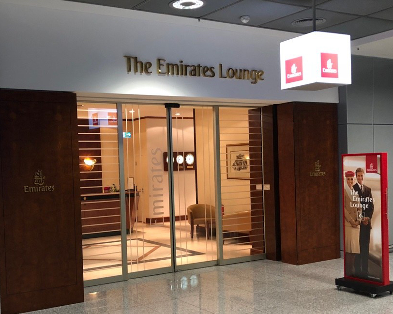 REVIEW: EMIRATES LOUNGE FRANKFURT
