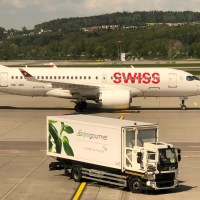 SWISS BOMBARDIER CSERIES BUSINESS CLASS