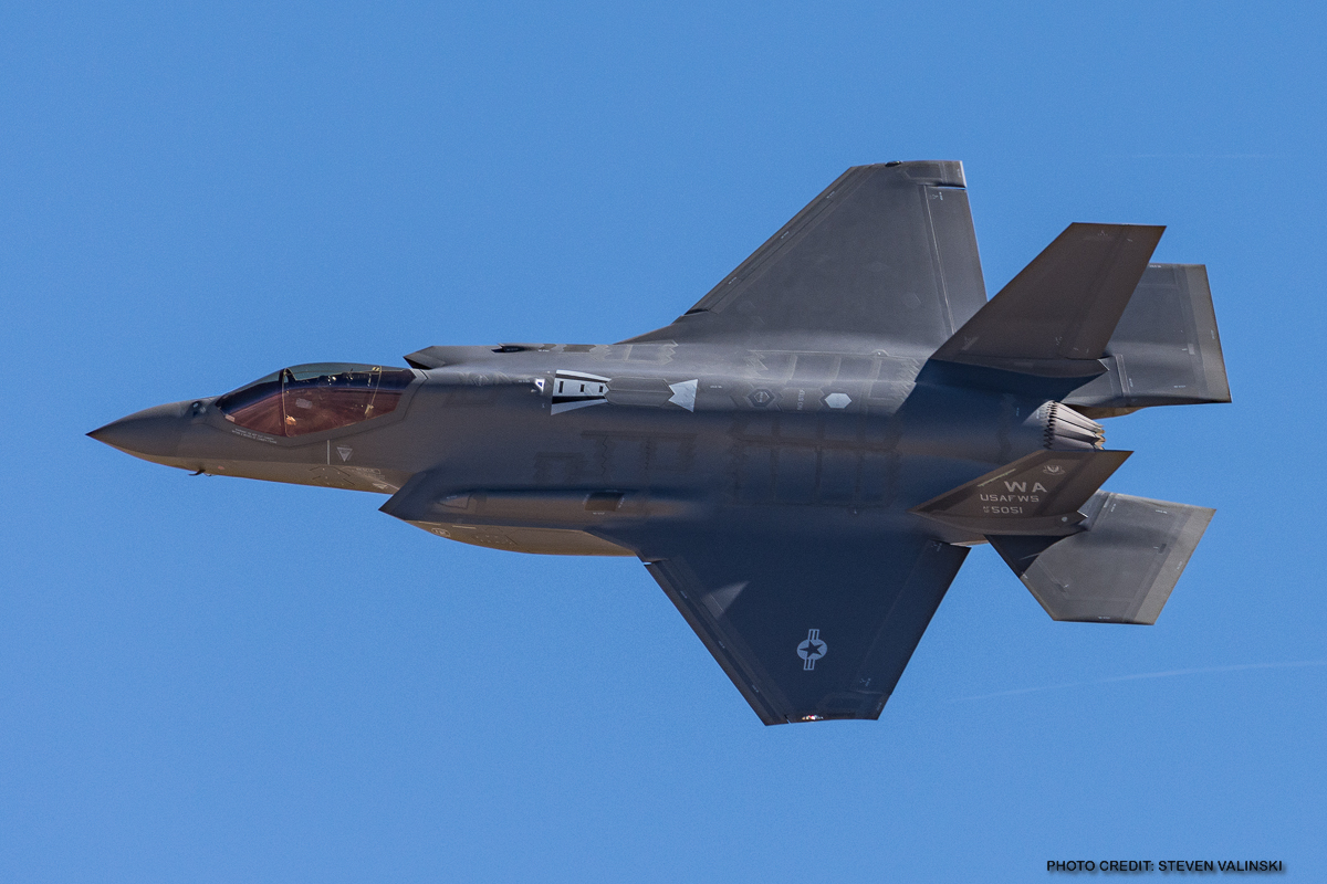 USAF Declares the F35A Combat Ready