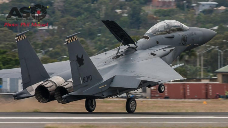 """""""Touchdown"""" - Returning from another mission at Exercise Wallaby 2016"""