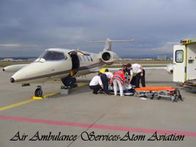 Ambulance Service-Atom Aviation Services