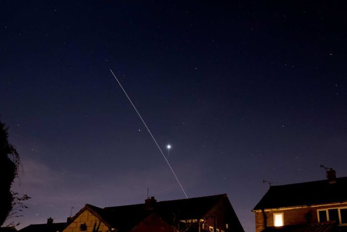 International Space Station visible to the naked eye in