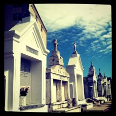 Cemetery on Rampart St.