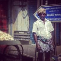 Fierce veg seller