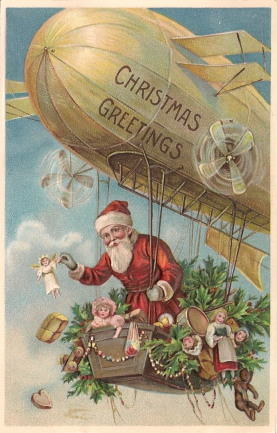 Vintage Christmas Postcards To Get You In The Holiday