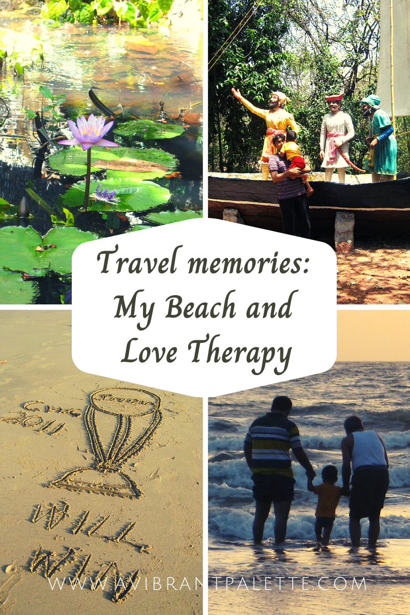 Travel memories_ My Beach and Love Therapy_avibrantpalette