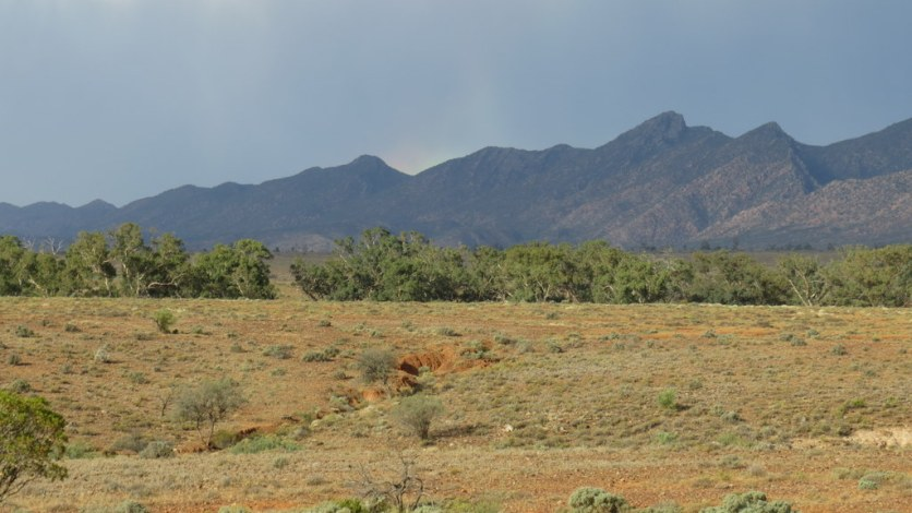 Flinders Ranges storm