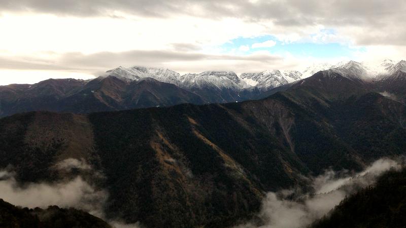 Balangshan view