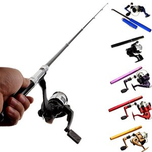 Portable fishing rods