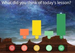 Classroomscreen Emoji Meter