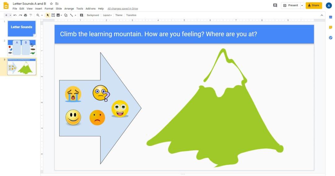 sample primary-grade interactive notebook progress monitoring activity