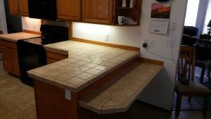 Custom Tile Countertop