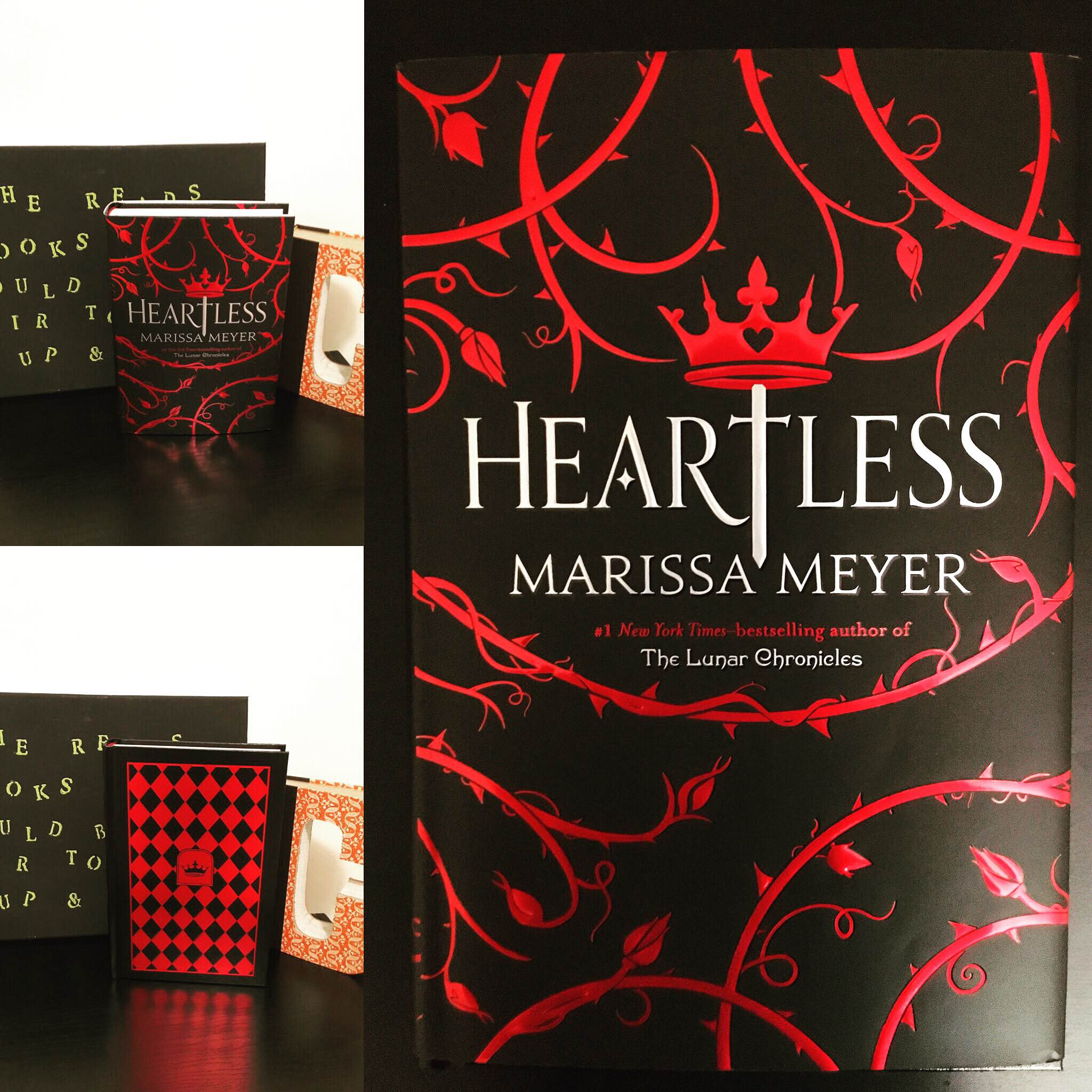 Happy Book Birthday to Heartless by Marissa Meyer  Avid Readers Mediocre Writers