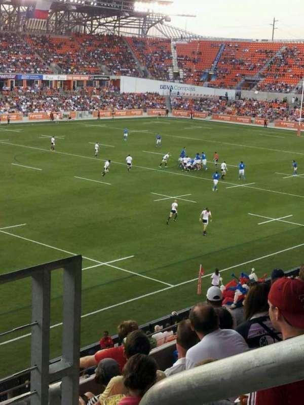 Bbva Compass Stadium Seating : compass, stadium, seating, Stadium,, Section, Houston, Dynamo,, Dash,, Texas, Southern, Tigers