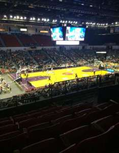 Valley view casino center harlem globetrotters   section also home of san diego gulls rh aviewfrommyseat