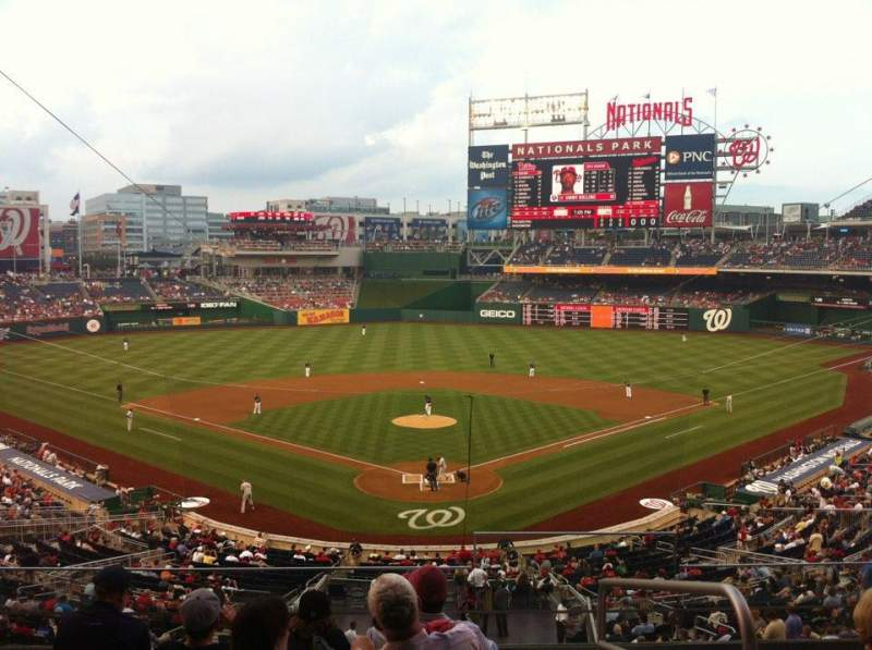 Washington Nationals Seating Chart With Seat Numbers Home Plan