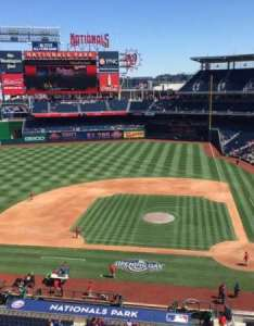 Nationals park section row  seat also home of washington rh aviewfrommyseat