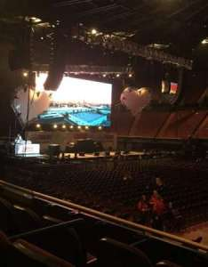 star concert seat view the forum section row also rh aviewfrommyseat