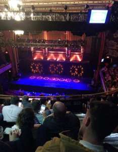 The tabernacle section row  seat also rh aviewfrommyseat