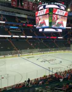Capital one arena section row  seat also home of washington capitals wizards rh aviewfrommyseat