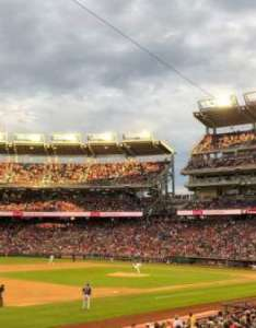 Nationals park washington also home of rh aviewfrommyseat