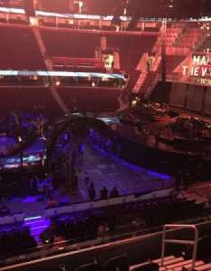 Quicken loans arena section  row seat also home of cleveland cavaliers rh aviewfrommyseat