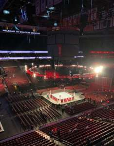 Wells fargo center section row seat also wwe photos at rh aviewfrommyseat