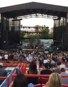 Irvine meadows amphitheatre section loge row cc seat also rh aviewfrommyseat
