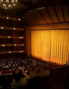 David  koch theater section rd ring row  seat also rh aviewfrommyseat