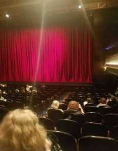 The joyce theater section orchestra row  seat also rh aviewfrommyseat